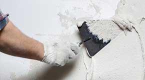 Plastered masonry