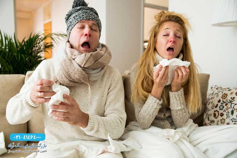 عایق حرارتی نا مناسب در خانه